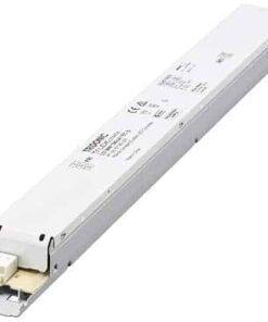 Technical data Rated supply voltage 220 – 240 V Input voltage AC 198 – 264 V Typ. rated current (at 230 V, 50 Hz, full load) 0.3 A Mains frequency 50 / 60 Hz Overvoltage protection 300 V AC, 1 h Leakage current (at 230 V, 50 Hz, full load) < 550 µA Max. input power 70 W Output power 60 W THD (at 230 V, 50 Hz, full load) < 20 % Output current tolerance ± 7.5 % Typ. current ripple (at 230 V, 50 Hz, full load) ± 30 % Turn on time (at 230 V, 50 Hz, full load) ≤ 0.7 s Turn off time (at 230 V, 50 Hz, full load) ≤ 0.7 s Hold on time at power failure 0 s Ambient temperature ta -20 ... +50 °C Ambient temperature ta (at life-time 50,000 h) 40 °C Storage temperature ts -40 ... +80 °C Dimensions L x W x H 360 x 30 x 21 m